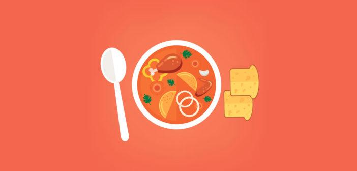 Suppe ledsmerter
